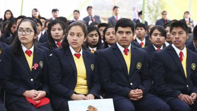 Estudiantes del COAR
