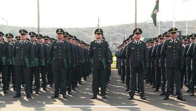 Policias en formación - Suboficiales