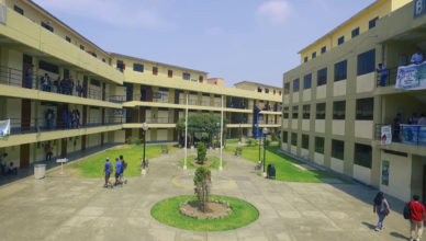 Campus Universidad Nacional Tecnologica del Peru